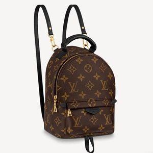 NWT Louis Vuitton Palm Springs Mini Backpack